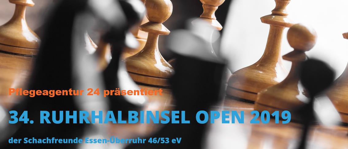 34. Ruhrhalbinsel Open 2019 | Pflegeagentur 24 präsentiert Schach